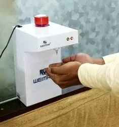 Automatic Sanitizer Dispenser Machine With 1 Ltr Capacity