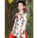 Party Wear Digital Print Kids Jodhpuri Sherwani, 1-12