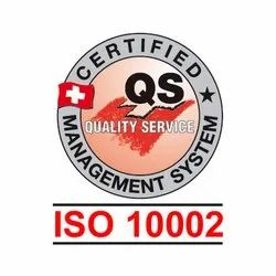 Iso 10002 Certification Services