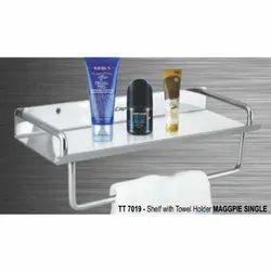 TT 7019 - Shelf with Towel Holder  Maggpie Single
