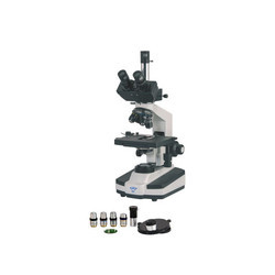 Metzer -m Trinocular Research Phase Contrast Microscope