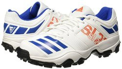 uk availability 8e955 4be57 Adidas and Puma WHITE KD Adidas Mens Trainer Cricket Shoes, Size 6, 7