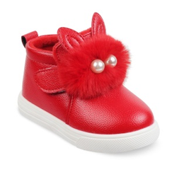 Kids Red Boots