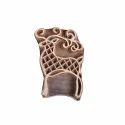 Deer Shape Wooden Henna Printing
