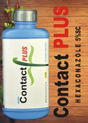Contact PLUS Hexaconazole Systemic Fungicide, Sc, Packaging Size: 1 L