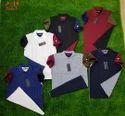 Cotton Branded Designer Collar T Shirts
