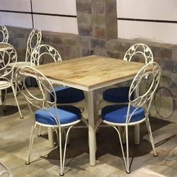 Metal Restaurant Table & Chair