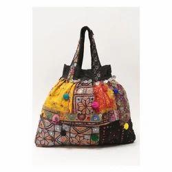 Jute Vintage Tribal Banjara Hand Embroidered Bags Rs 1000 Piece