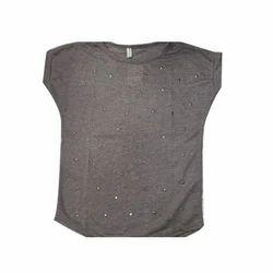 Hosiery Plain Woolen Sleeveless Top