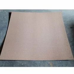 Brown Perforated MDF Board, Finish Type: Brown Color
