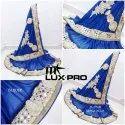 M-star Lux Lycra Designer Saree