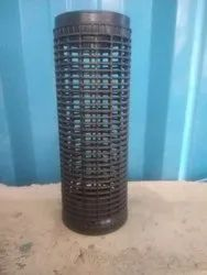 Black Polypropylene Perforated Yarn Dyeing Tube, Packaging Type: Woven Sack, Size: 54 To55 Mm(diameter)