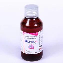 Ambroxol Guaiphenesin Levosalbutamol Syrup