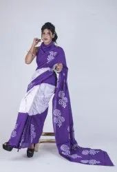 Batik Cotton Sarees