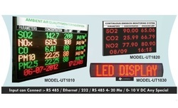Environmental Parameter Display Scrolling Board