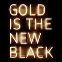 Golden Brass Letter
