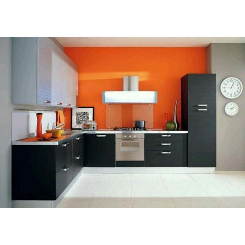 Modular Kitchen At Rs 500 Square Feet Lakdi Ka Modular Rasoi Ghar