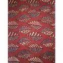 Rayon Ajrakh Printed Kurti Fabric
