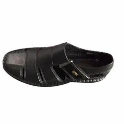 Black Rainy Sandal, Size: 6 to 10, Rs