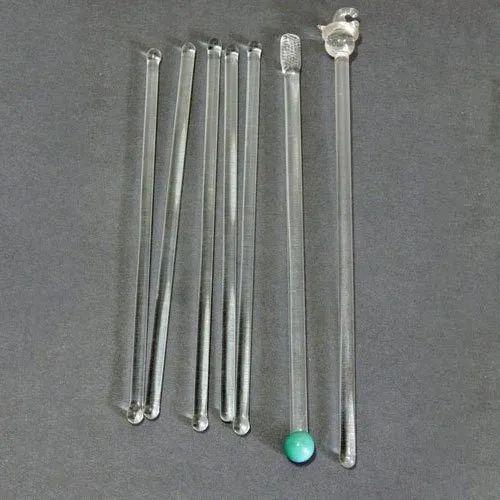 Acrylic Cocktail Swizzle Stirrer Sticks, Size: 6 Inch