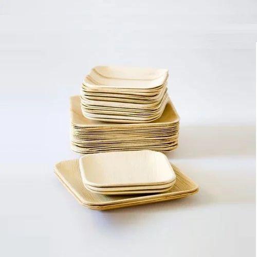 Areca Leaf Eco Friendly Disposable Plates & Areca Leaf Eco Friendly Disposable Plates Rs 5.5 /piece | ID ...