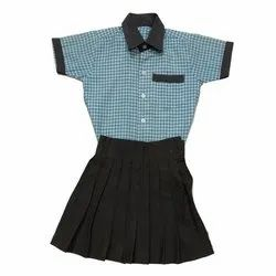 Girls Check School Uniform