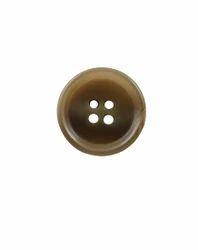 Light Brown Shank Coat Button
