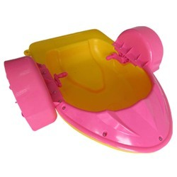 Pink And Yellow Paddle Boat, Size/dimension: 1.51 X 0.92 X 0.32 M