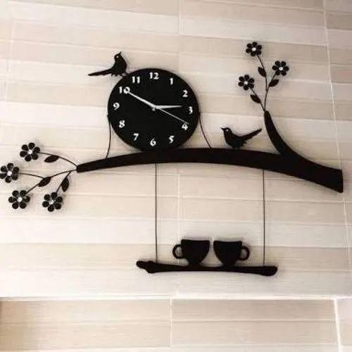3d Acrylic Wall Clock Tree Bird Coffee Cup On Jhula Design For Living Room At Rs 520 Piece À¤à¤• À¤° À¤² À¤• À¤¦ À¤µ À¤° À¤• À¤˜à¤¡ À¤à¤• À¤° À¤² À¤• À¤µ À¤² À¤µ À¤š R N Star Surat Id 22417151255