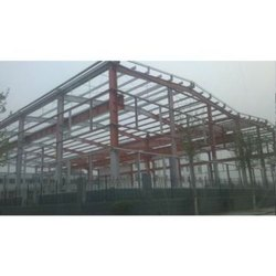 Mild Steel Prefabricated Space Frame