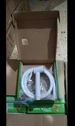 Pvc Health Faucet, For Bathroom Fitting, Size: 1.5 Mtr Tube