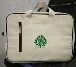 Plain Handled Canvas Conference Bag