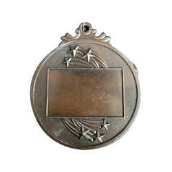 Round Bronze Sports Medal