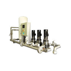 Pressure Booster System, Type : Waste Water Treatment