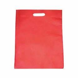 Red D-Cut Non Woven Bag