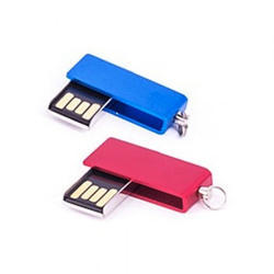 Mini Swivel Metal USB Pen Drive