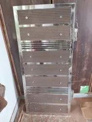 Open Hinged ss man gates, For Home