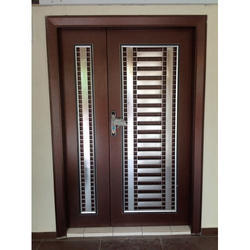 Residential Double Security Iron Doors