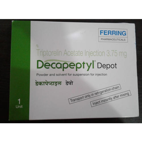 Decapeptyl Ferring Triptorelin Acetate Injection, For Hospital, Packaging  Type: Box, Rs 6098 /box   ID: 19972673055