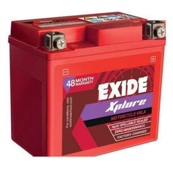 Exide Xplorer Batteries for Two Wheelers 5 lb