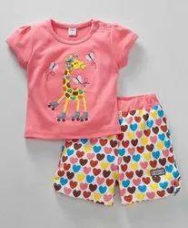Lenzing Tencel Kids Shorts Set
