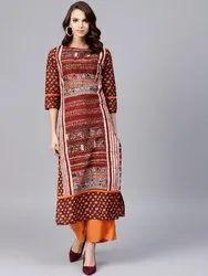 Ladies Designer Jaipuri Kurtis