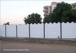 Rcc Residental Boundary Wall