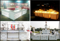 Catering Counter Top Jali Cutting
