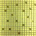 Yellow Glass Mosaic Tile