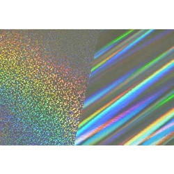 Metalized Holographic Film
