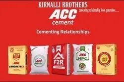 ACC Cement , Packaging Type: PP Sack Bag