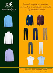 Corporate Office Shirts -Uniforms