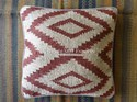 Indian Hand Woven Kilim Jute Pillow Cover