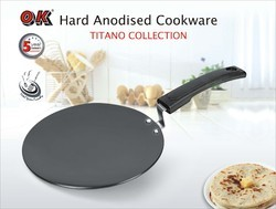 Hard Anodized Tawa (Concave) Heavy